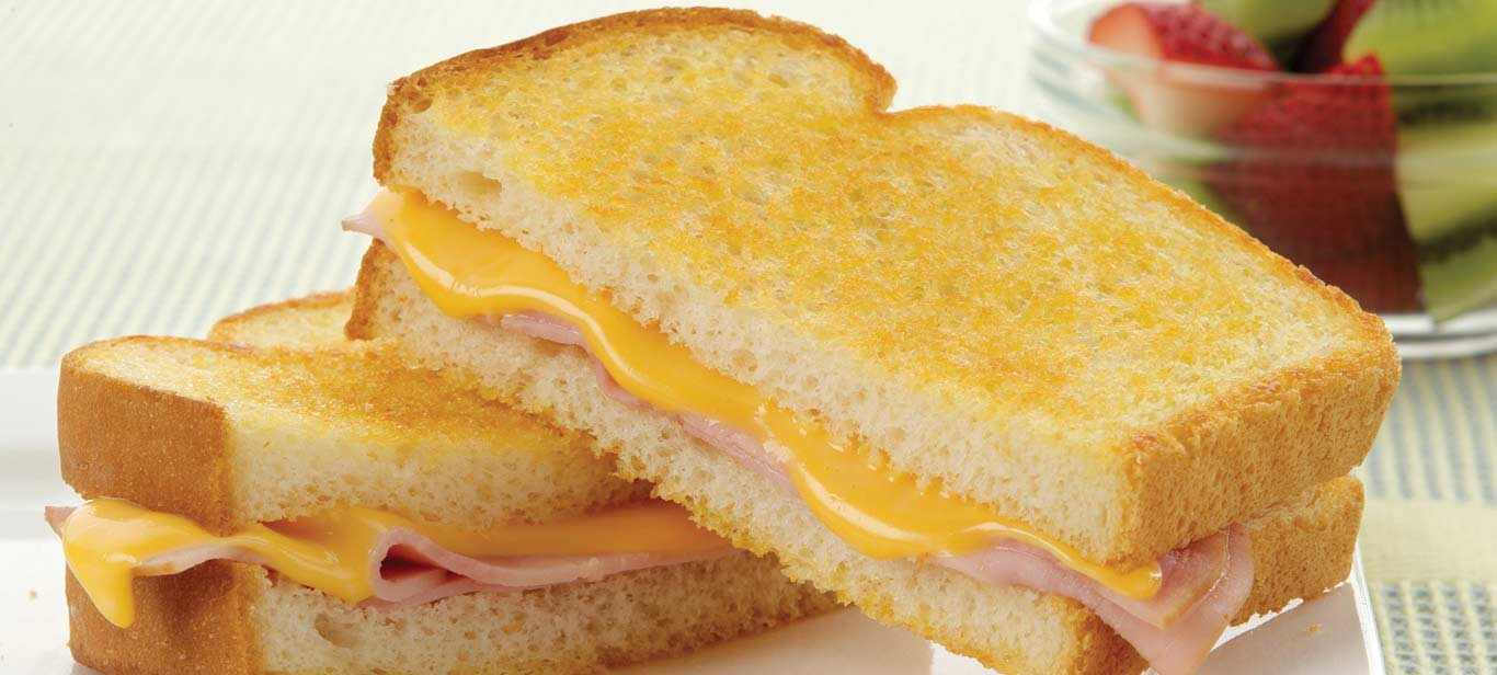 Enjoy the ooey gooey melt of Kraft Singles on a grilled cheese today