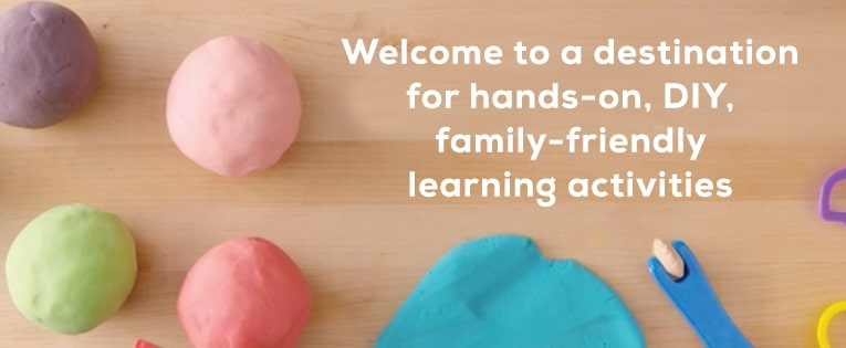 Welcome to a destination for hands on,DIY,family friendly learning activities