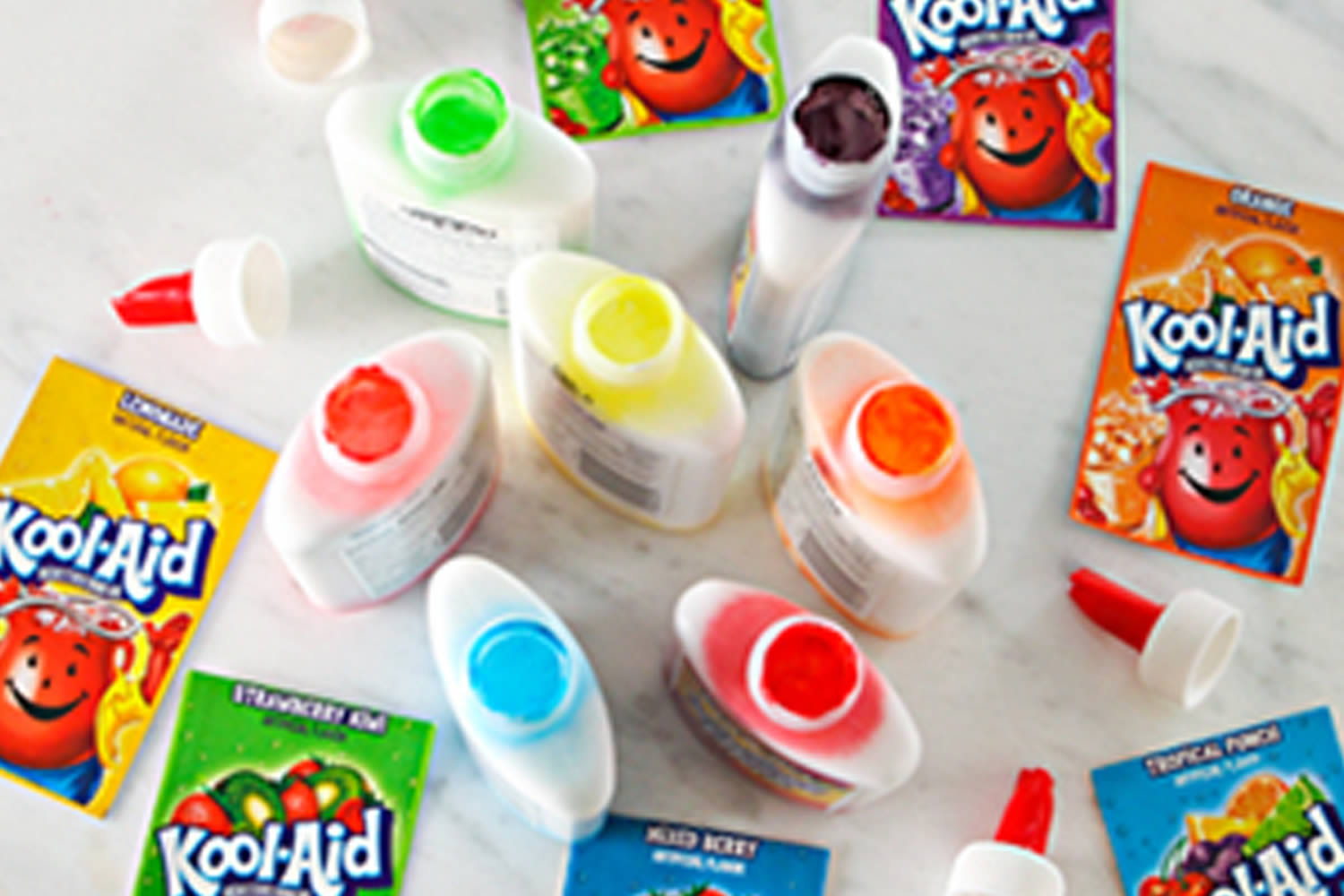 KOOL-AID Glue Art
