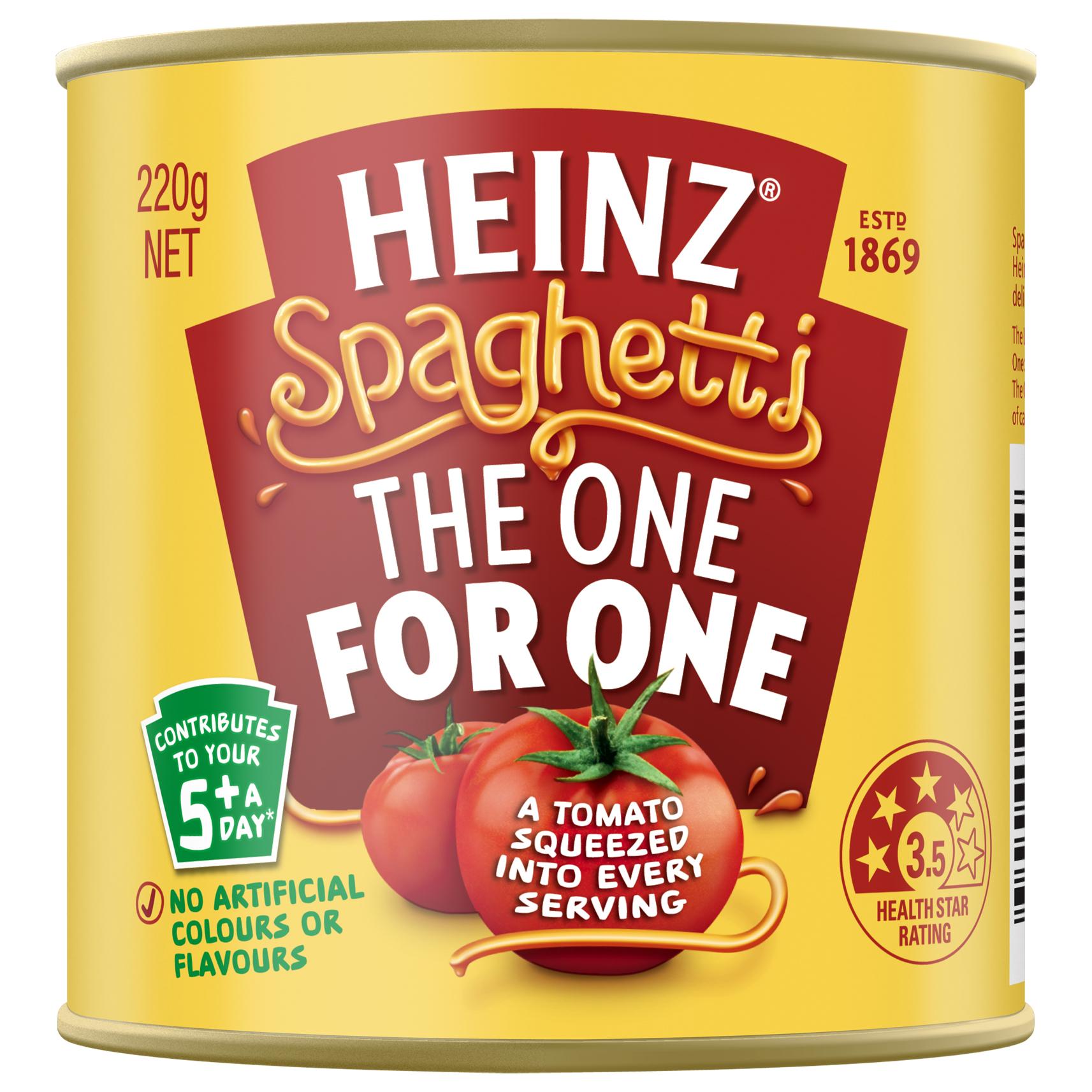 Heinz Spaghetti in Tomato Sauce 220g
