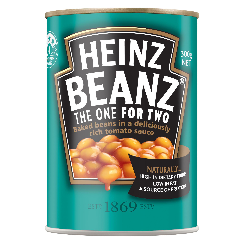 Heinz Baked Beanz in Tomato Sauce 300g