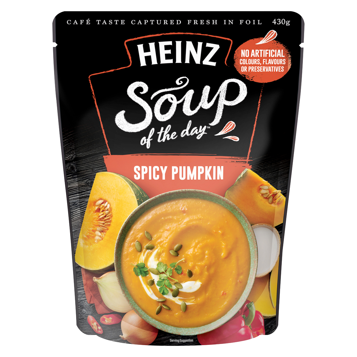 Heinz Soup of the Day Spicy Pumpkin