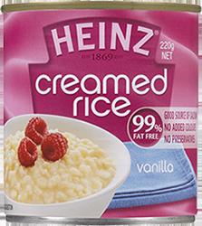 Heinz Creamed Rice - Vanilla