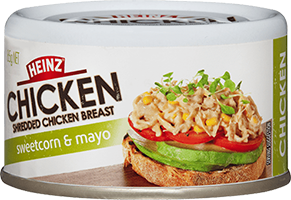 Heinz Shredded Chicken - Sweetcorn and Mayo