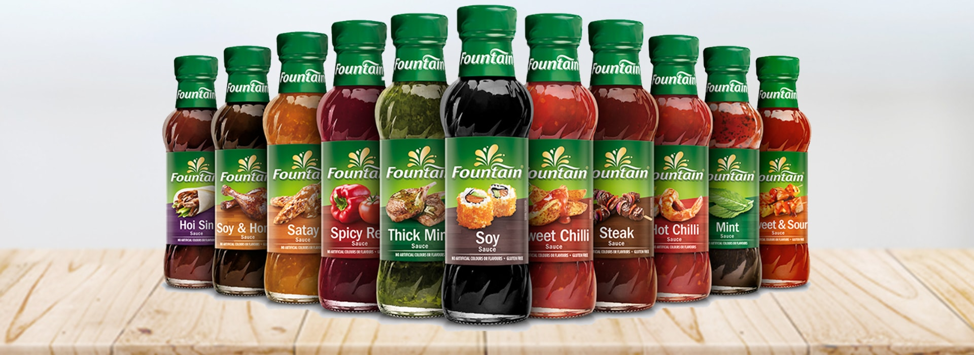 Fountain Sauces Banner