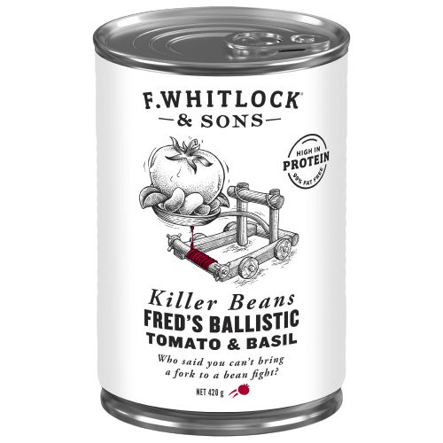 Fred's Ballistic Tomato & Basil