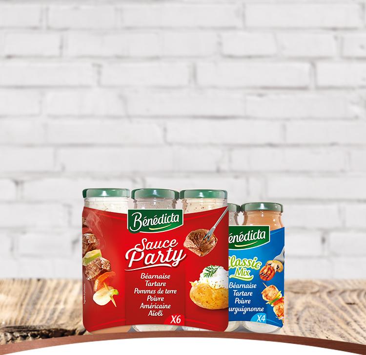 Assortiments de Sauces banner image