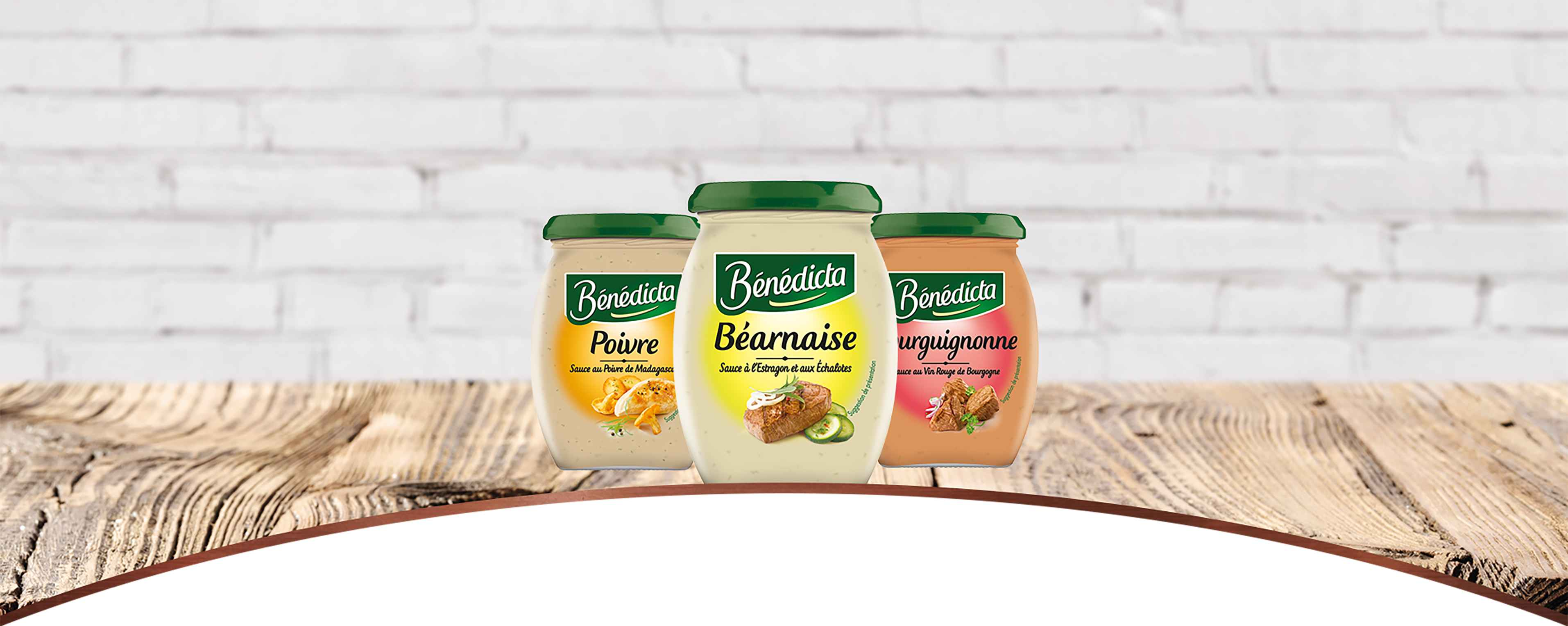 Sauces Traditionnelles banner image