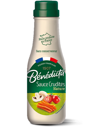 1 bouteille de Sauce Crudités Nature Bénédicta