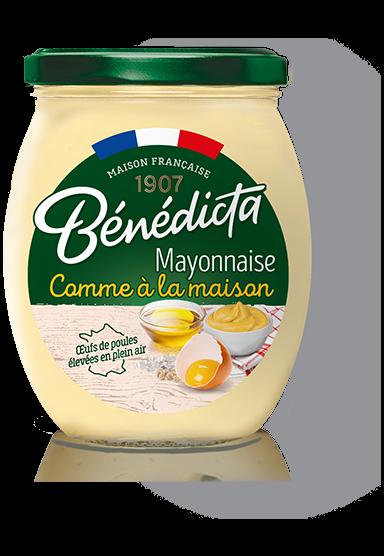 1 pot de Mayonnaise Comme à la maison Bénédicta