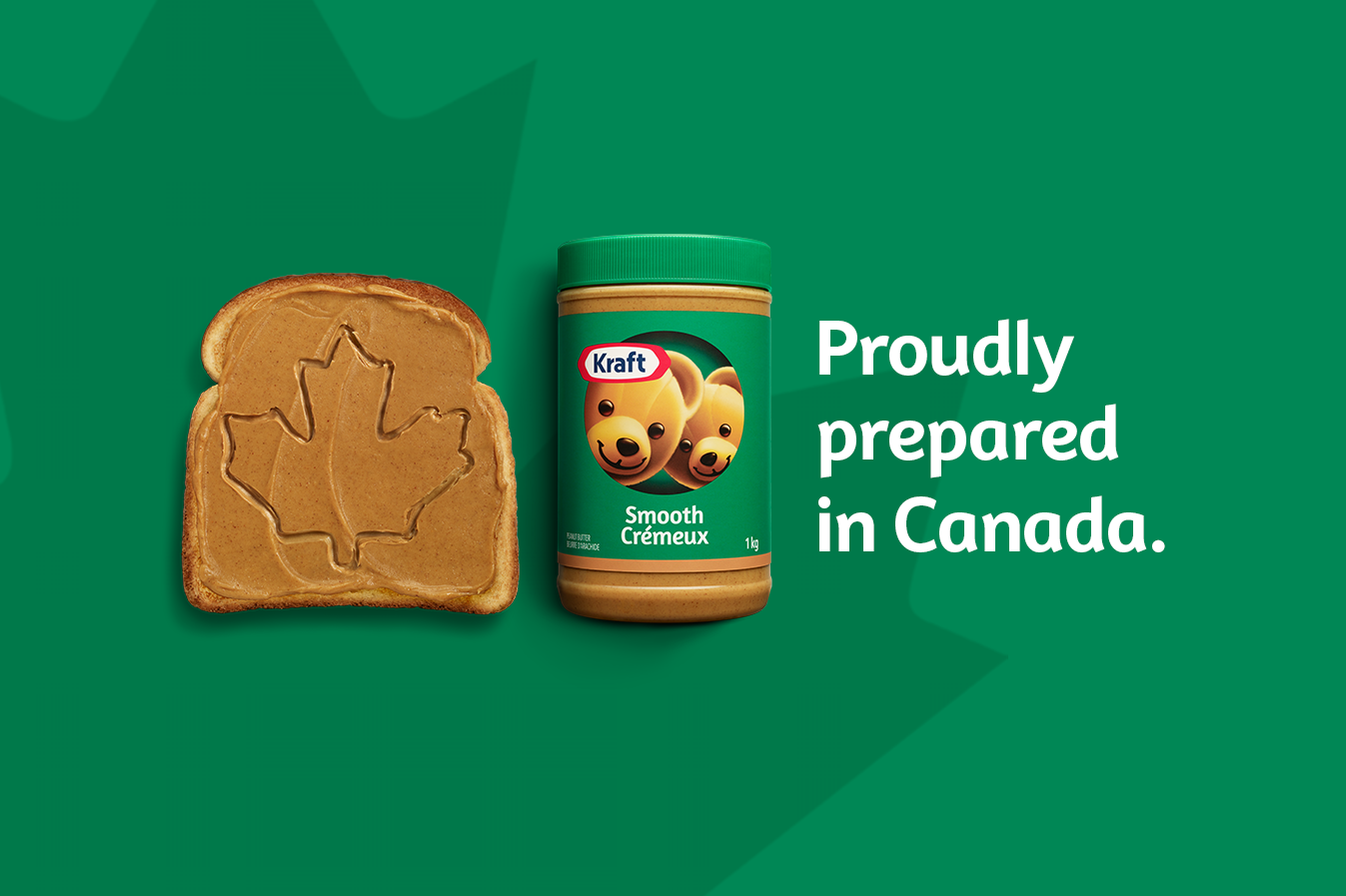 Proudly prepared in Canada