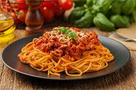 Dish Western Spaghetti Bolognese