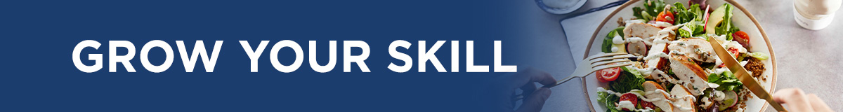 Grow your skill banner