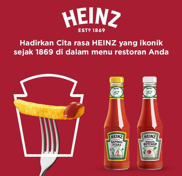 heinz sauce banner image