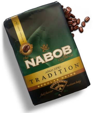 Nabob coffee bag image