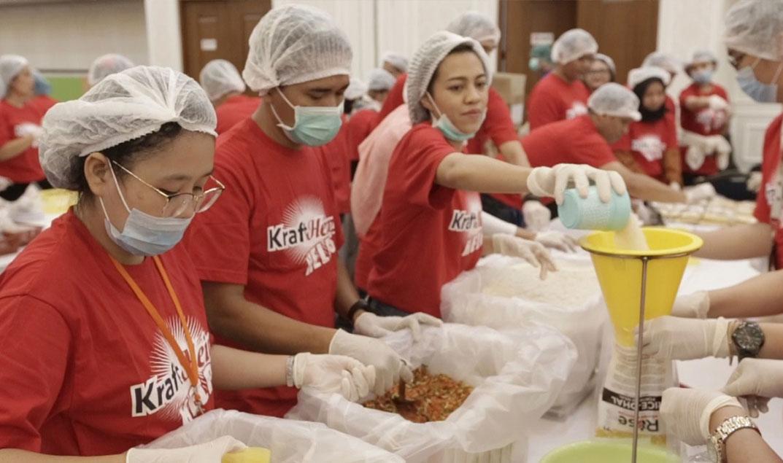 Rayakan Hari Pangan Sedunia, KraftHeinz Gelar Global Meal Pack-a-thon Serentak di 11 Negara
