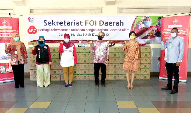 Melanjutkan Komitmen Untuk Indonesia, ABC Berbagi Kebersamaan Ramadan Dengan Korban Bencana Alam